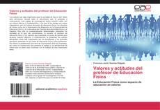 Bookcover of Valores y actitudes del profesor de Educación Física