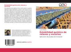 Portada del libro de Estabilidad química de relaves y escorias
