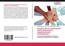 Capa do livro de Gestión de la cooperación entre empresas y organismos de investigación