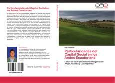 Capa do livro de Particularidades del Capital Social en los Andes Ecuatoriano