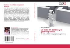 Portada del libro de La ética en la política y la gestión pública