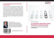 Capa do livro de La extrema derecha como fenómeno trasnacional.