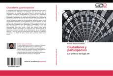 Portada del libro de Ciudadanía y participación