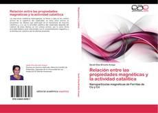Portada del libro de Relación entre las propiedades magnéticas y la actividad catalítica