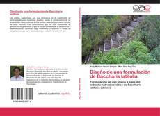 Bookcover of Diseño de una formulación de Baccharis latifolia