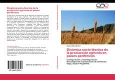 Portada del libro de Dinámica socio-técnica de la producción agrícola en países periféricos