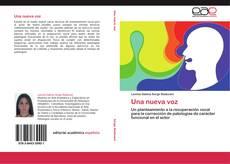 Buchcover von Una nueva voz