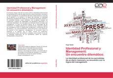 Portada del libro de Identidad Profesional y Management: Un encuentro dilemático.
