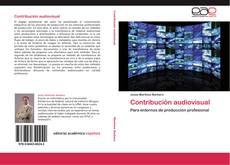 Buchcover von Contribución audiovisual