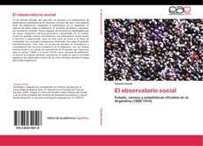 Portada del libro de El observatorio social