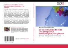 Portada del libro de La transexualidad desde una perspectiva antropológica y de género