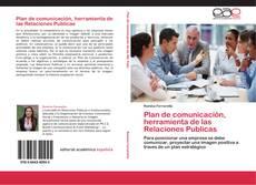 Bookcover of Plan de comunicación, herramienta de las Relaciones Publicas