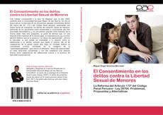 Buchcover von El Consentimiento en los delitos contra la Libertad Sexual de Menores