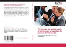 Portada del libro de Formación de gestores de programas y proyectos de ciencia e innovación