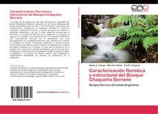 Portada del libro de Caracterización florística y estructural del Bosque Chaqueño Serrano