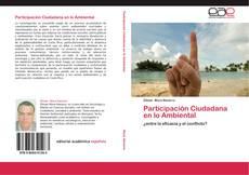 Portada del libro de Participación Ciudadana en lo Ambiental