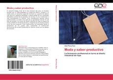Capa do livro de Moda y saber productivo