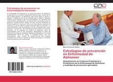 Capa do livro de Estrategias de prevención en Enfermedad de Alzheimer