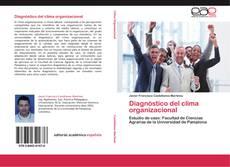 Capa do livro de Diagnóstico del clima organizacional