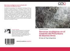 Bookcover of Servicios ecológicos en el contexto del Periurbano de Buenos Aires