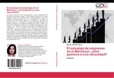 Borítókép a  El salvataje de empresas en el Mercosur: ¿Una quimera o una necesidad? - hoz