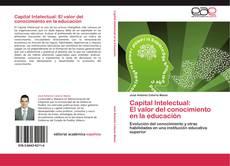 Capa do livro de Capital Intelectual:  El valor del conocimiento  en la educación