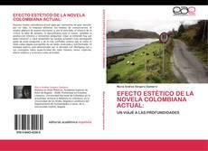 Portada del libro de Efecto estético de la novela colombiana actual