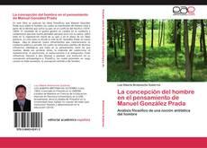 Portada del libro de La concepción del hombre en el pensamiento de Manuel González Prada