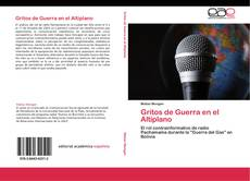 Capa do livro de Gritos de Guerra en el Altiplano