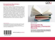 Portada del libro de Concepción de Aprendizaje y  Formación Docente