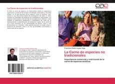 Buchcover von La Carne de especies no tradicionales