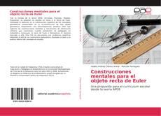 Bookcover of Construcciones mentales para el objeto recta de Euler