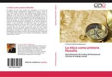 Capa do livro de La ética como primera filosofía