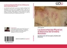 Capa do livro de La Concertación Plural en el Discurso de Cristina Kirchner