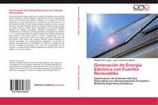 Portada del libro de Generación de Energía Eléctrica con Fuentes Renovables