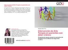 Portada del libro de Intervención de Arte Terapia en pacientes con dolor crónico
