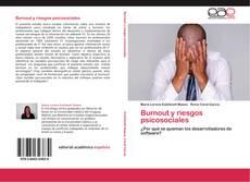 Capa do livro de Burnout y riesgos psicosociales