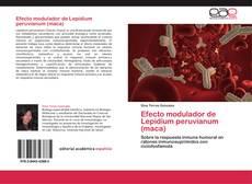 Capa do livro de Efecto modulador de Lepidium peruvianum (maca)