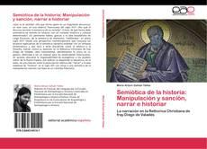 Buchcover von Semiótica de la historia: Manipulación y sanción, narrar e historiar