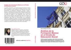 Borítókép a  Análisis de la Formación Básica en el Grado de Educación Social - hoz