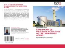 Обложка EVALUACIÓN DE PROCESOS BIOLÓGICOS DE TRATAMIENTO DE AGUAS