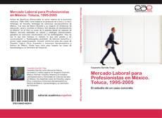Couverture de Mercado Laboral para Profesionistas en México. Toluca, 1995-2005