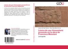 Bookcover of Léxico de uso Venezolano presente en la obra de Francisco Massiani