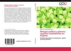 Refugio político y género: mujeres colombianas en España的封面