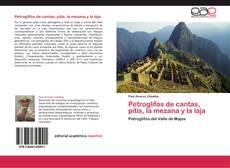 Capa do livro de Petroglifos de cantas, pitis, la mezana y la laja