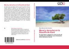 Portada del libro de Moral y derecho en la filosofía de Kant