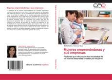Couverture de Mujeres emprendedoras y sus empresas