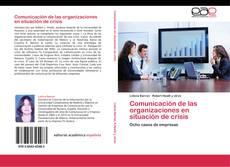 Capa do livro de Comunicación de las organizaciones en situación de crisis