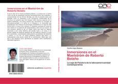 Capa do livro de Inmersiones en el Maelström de Roberto Bolaño