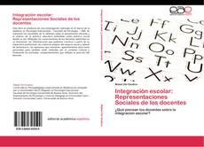 Portada del libro de Integración escolar: Representaciones Sociales de los docentes